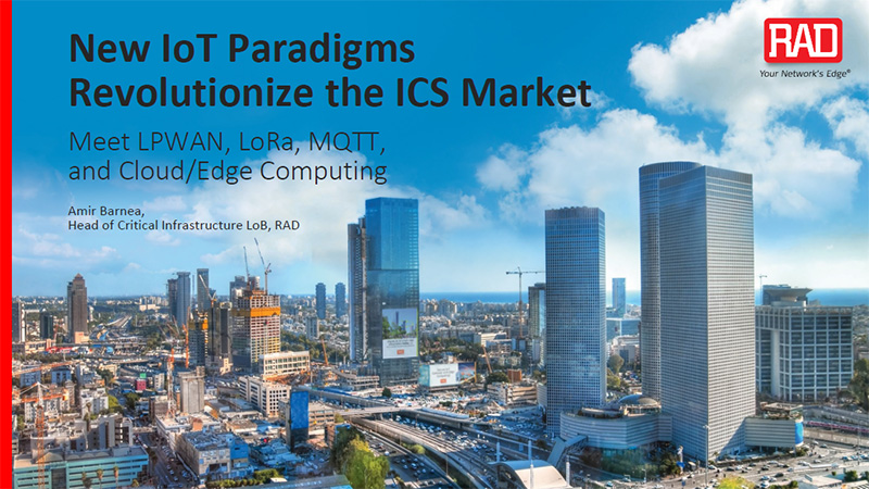 New IoT Paradigms Revolutionizing the ICS Market