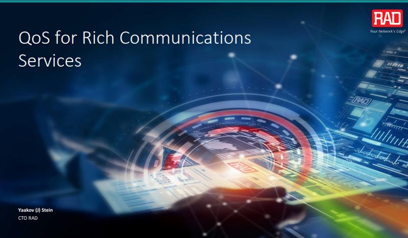 QoS for Rich Communications Services