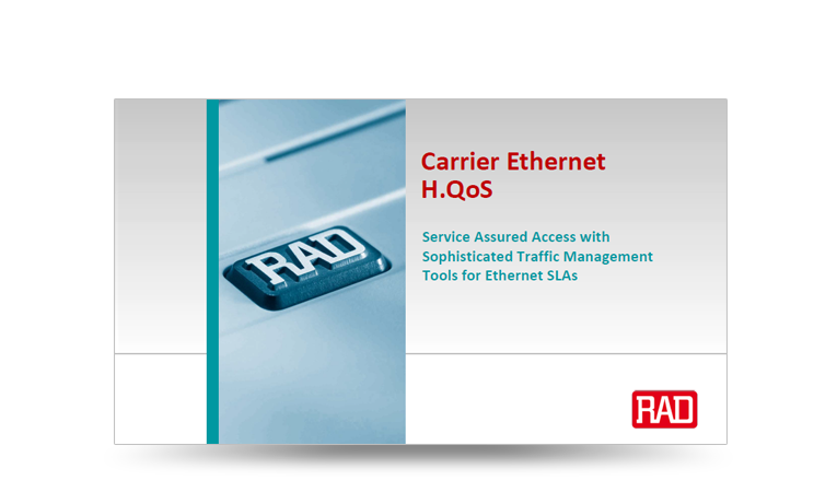 Carrier Ethernet H.QoS