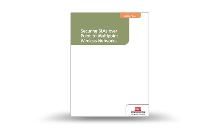 Securing SLAs over Point-to-Multipoint Wireless Networks