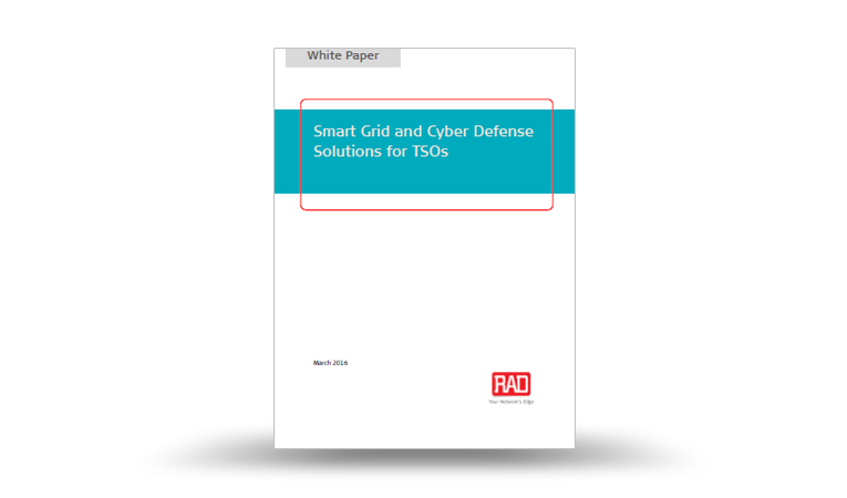 Smart Grid and Cyber Defense Solutions for TSOs