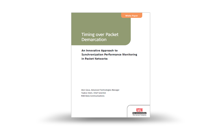Timing over Packet Demarcation