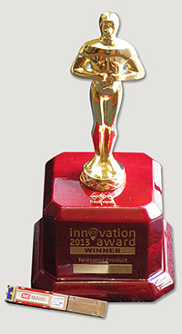 Telecoms Product Innovation Award 2013