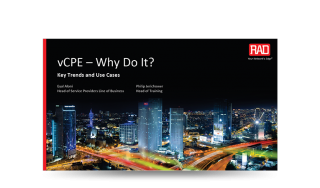 vCPE –Why Do It?