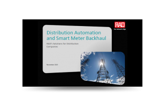 Distribution Automation and Smart Meter Backhaul