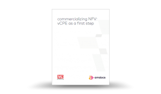 Commercializing NFV: vCPE as a first step
