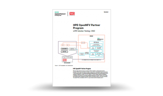 RAD-HPE vCPE Solution Testing