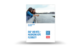 RAD's vCPE Solution Brief at Intel's Network Builders