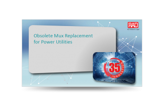 TDM Mux Replacement for Power Utilities