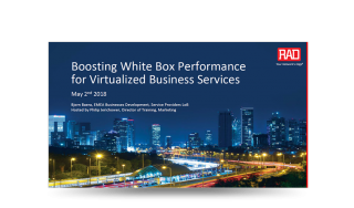 Webinar: Boosting White Box Performance