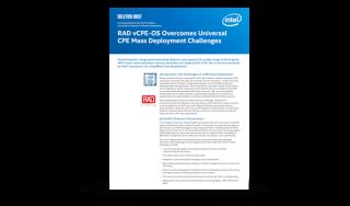 Intel-RAD-vCPE-OS