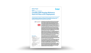 Cloudify, RAD Develop Reference Stack for Mass uCPE Deployment