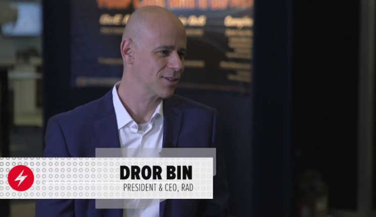 RAD CEO Dror Bin Shares vCPE and SD-WAN Market Insights at BCE 2017